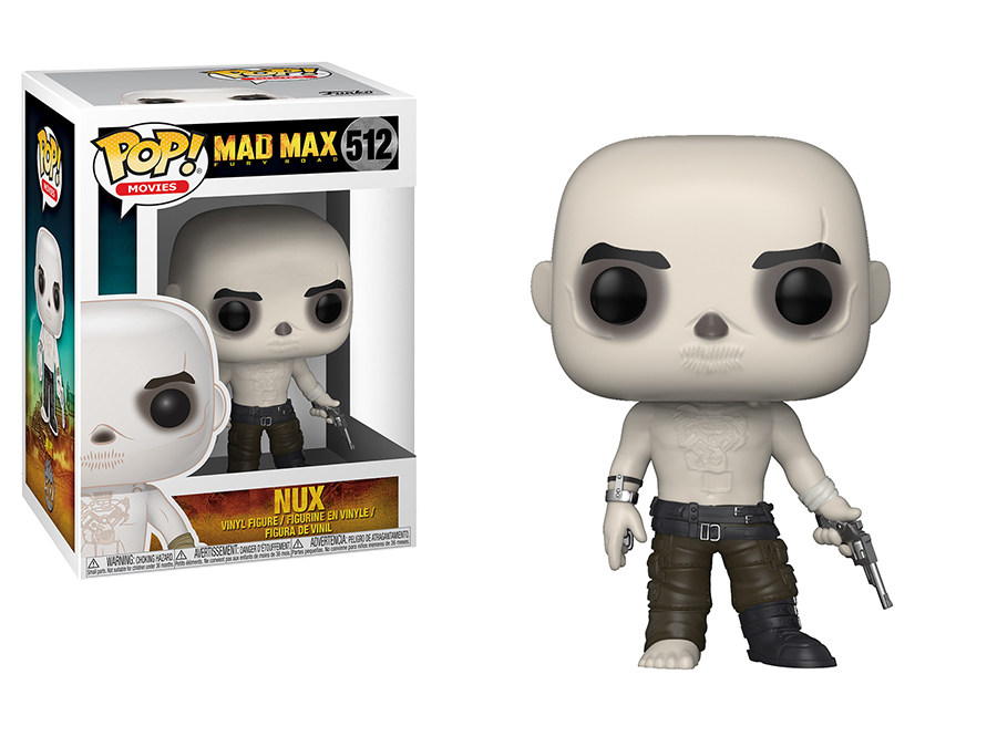 Photo du produit MAD MAX FURY ROAD FUNKO POP! MOVIES NUX SHIRTLESS