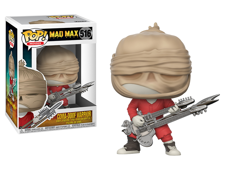 Photo du produit MAD MAX FURY ROAD FUNKO POP! MOVIES COMA-DOOF
