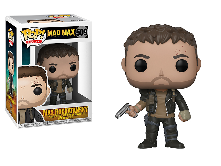 Photo du produit MAD MAX FURY ROAD FUNKO POP! MOVIES MAX WITH GUN