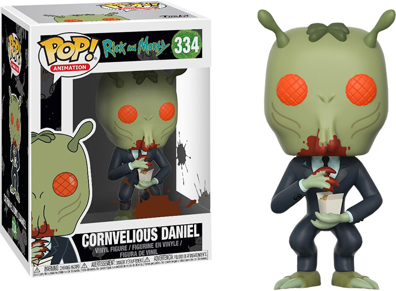 Photo du produit FUNKO POP RICK & MORTY CORNVELIOUS DANIEL