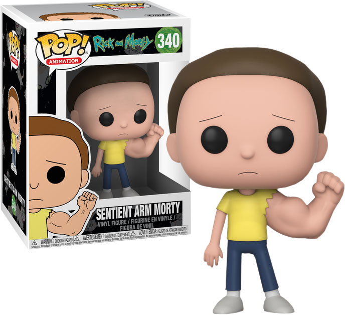 Photo du produit RICK ET MORTY FUNKO POP! SENTINENT ARM MORTY (5 + 1 CHASE)