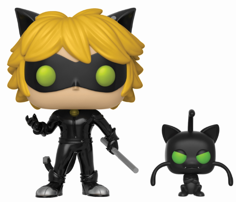 Photo du produit FUNKO POP MIRACULOUS LADYBUG CHAT NOIR & PLAGG