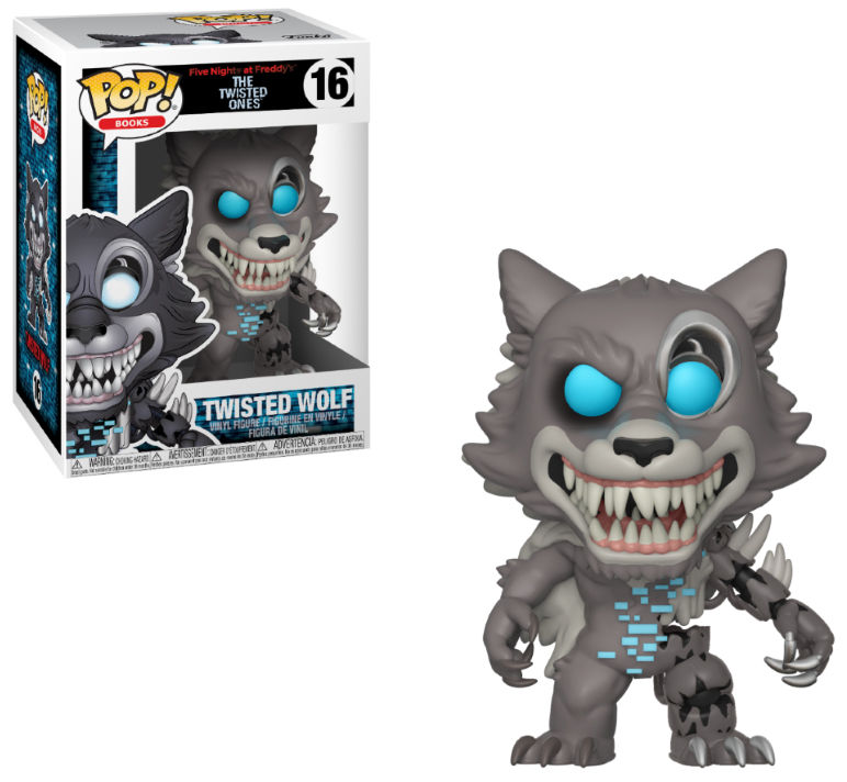 Photo du produit FIVE NIGHTS AT FREDDY'S FUNKO POP TWISTED WOLF