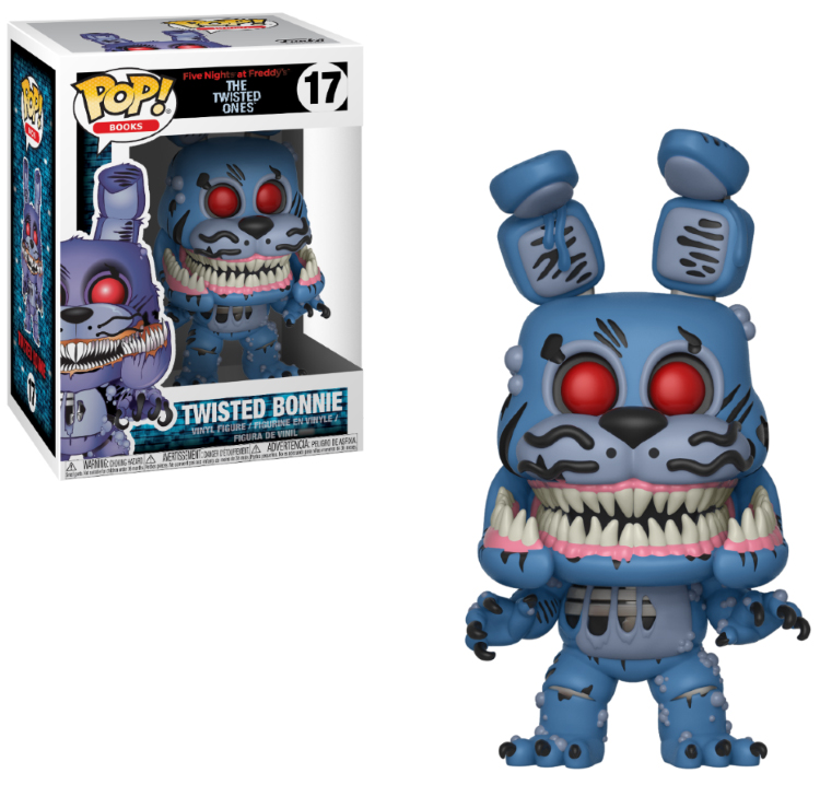 Photo du produit FIVE NIGHTS AT FREDDY'S FUNKO POP TWISTED BONNIE