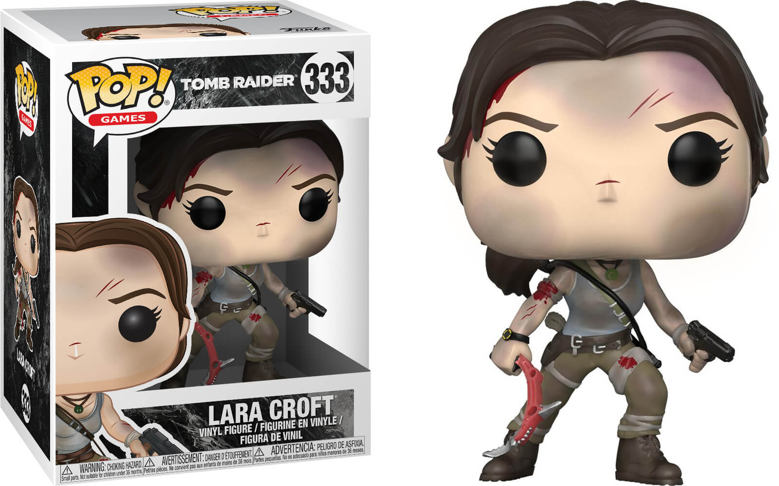 Photo du produit TOMB RAIDER FUNKO POP LARA CROFT