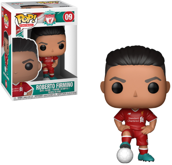 Photo du produit FUNKO POP LIVERPOOL ROBERTO FIRMINO