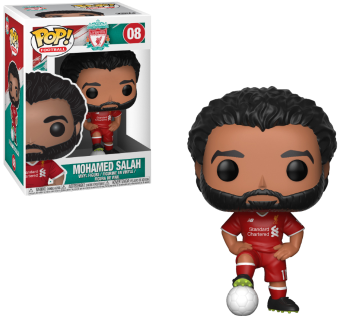 Photo du produit FUNKO POP LIVERPOOL MOHAMED SALAH