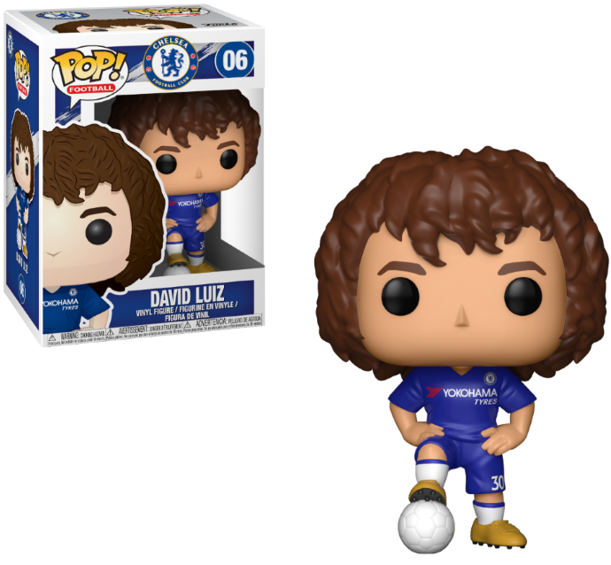 Photo du produit FUNKO POP CHELSEA DAVID LUIZ