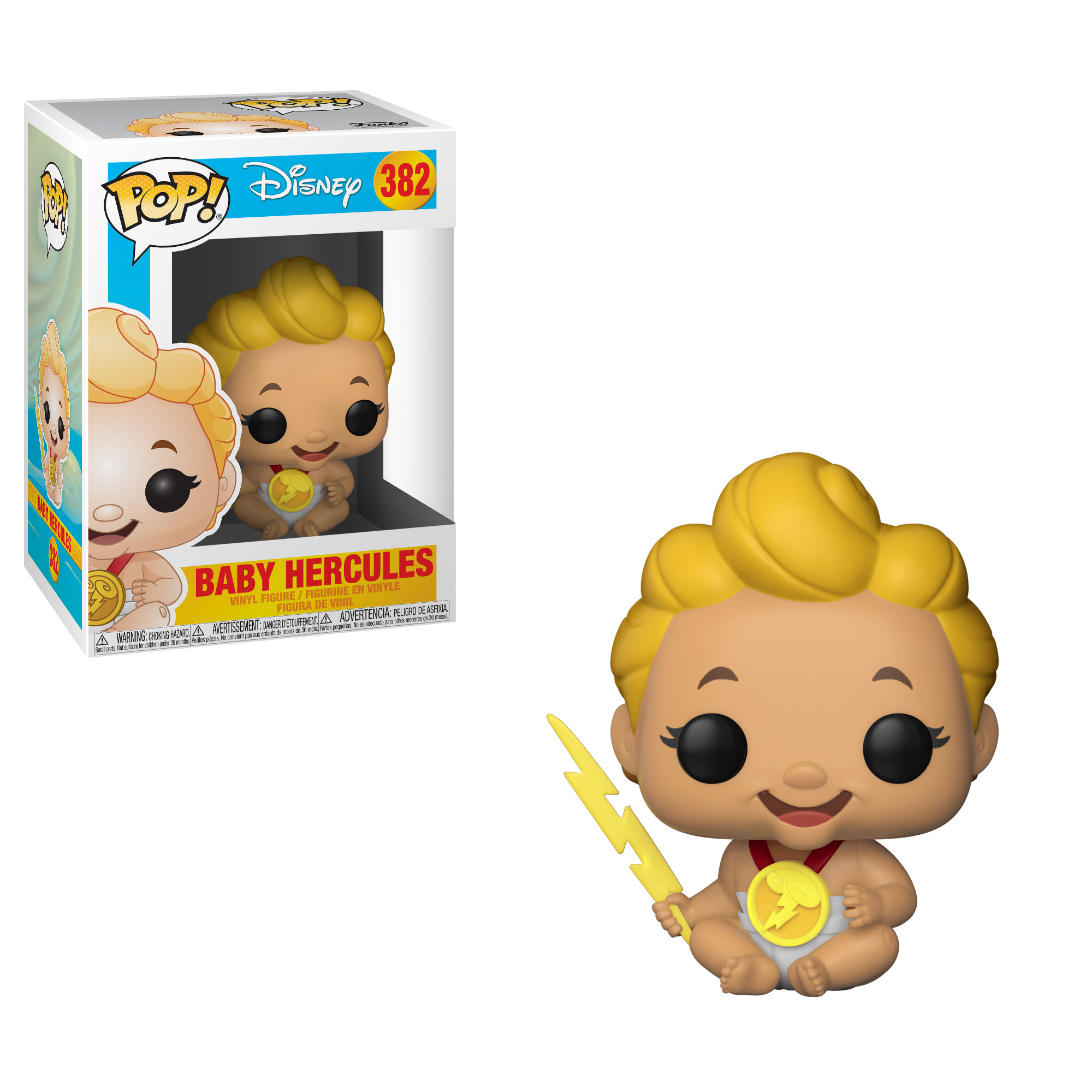 Photo du produit DISNEY HERCULES FUNKO POP BABY HERCULES