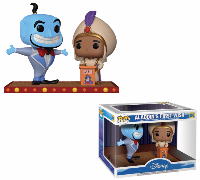 Photo du produit DISNEY FUNKO POP ALADDIN'S FIRST WISH MOVIE MOMENT