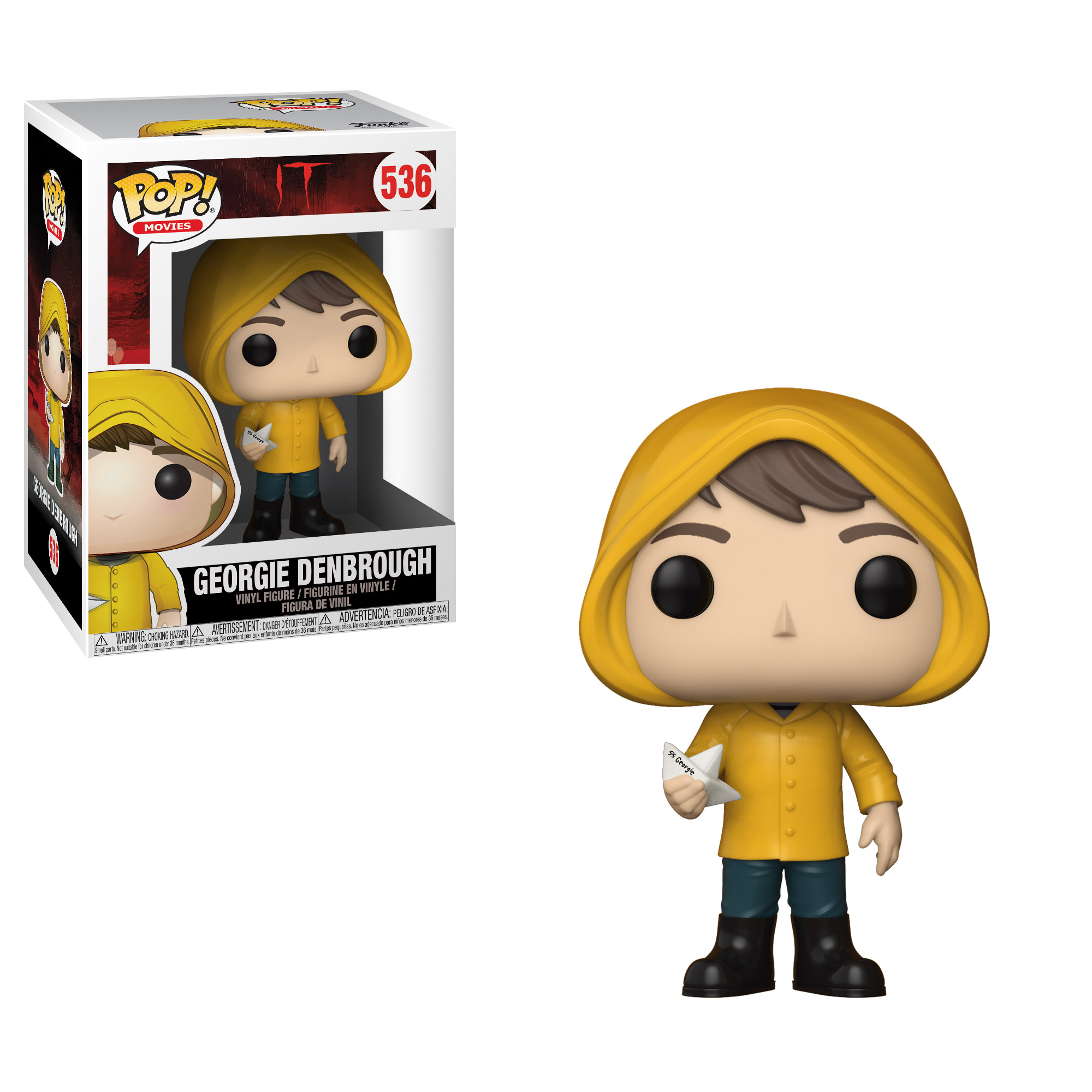 Photo du produit IT FIGURINE FUNKO POP GEORGIE DENBROUGH