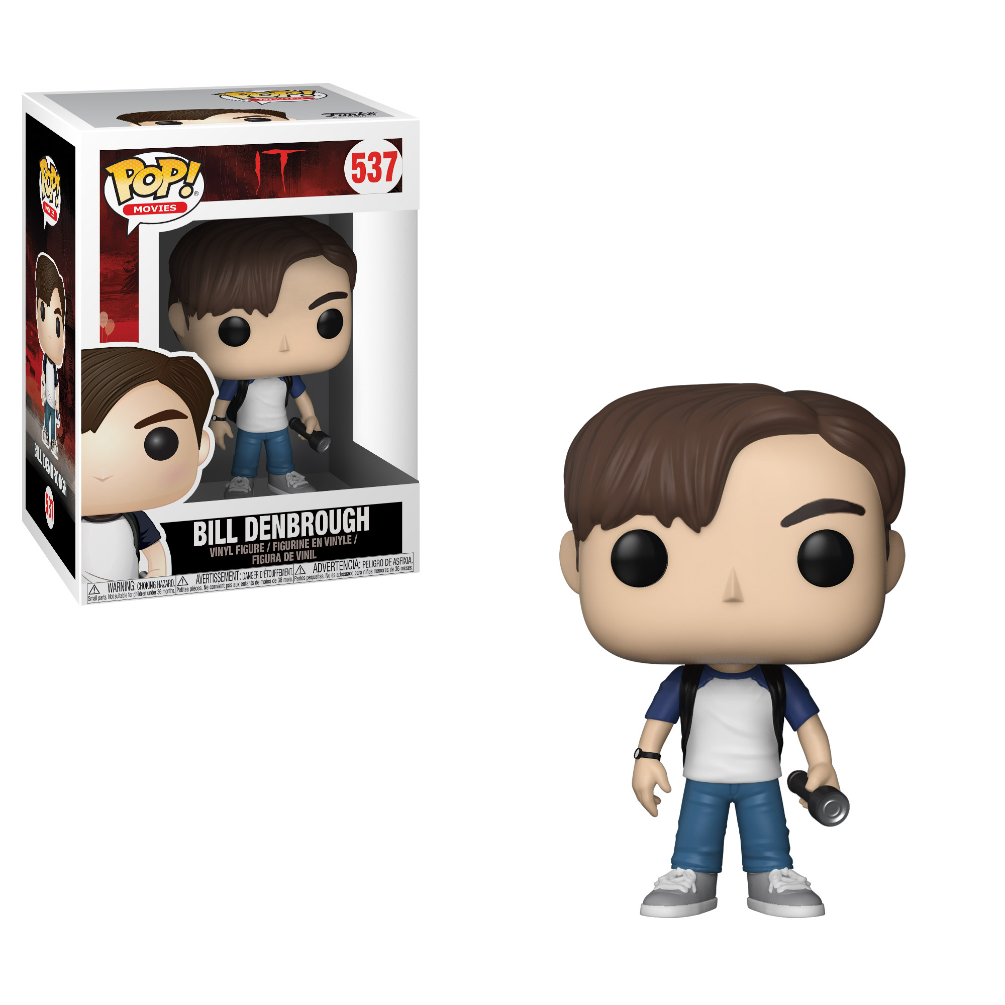 Photo du produit IT FIGURINE FUNKO POP BILL DENBROUG