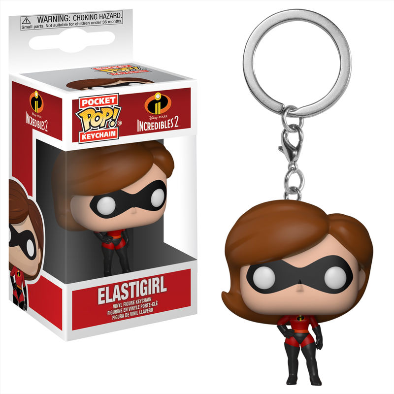 Photo du produit PORTE CLE POCKET POP! LES INDESTRUCTIBLES 2 ELASTIGIRL