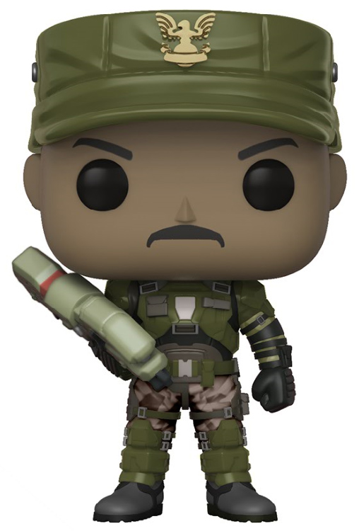Photo du produit FIGURINE FUNKO POP HALO SGT. JOHNSON