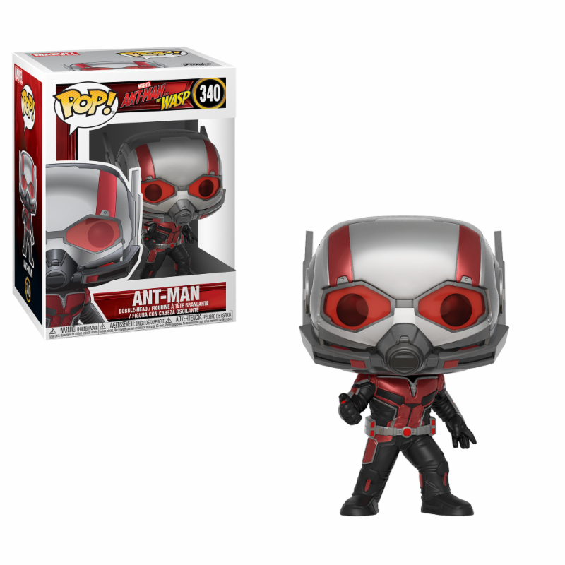 Photo du produit ANT-MAN AND THE WASP FIGURINE FUNKO POP ANT-MAN