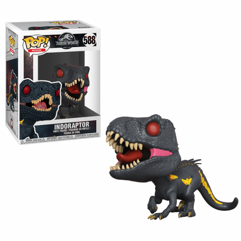 Photo du produit FIGURINE FUNKO POP JURASSIC WORLD FALLEN KINGDOM INDORAPTOR