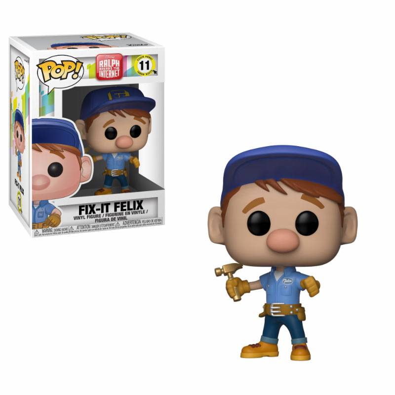 Photo du produit LES MONDES DE RALPH 2 FIGURINE FUNKO POP! FIX-IT FELIX