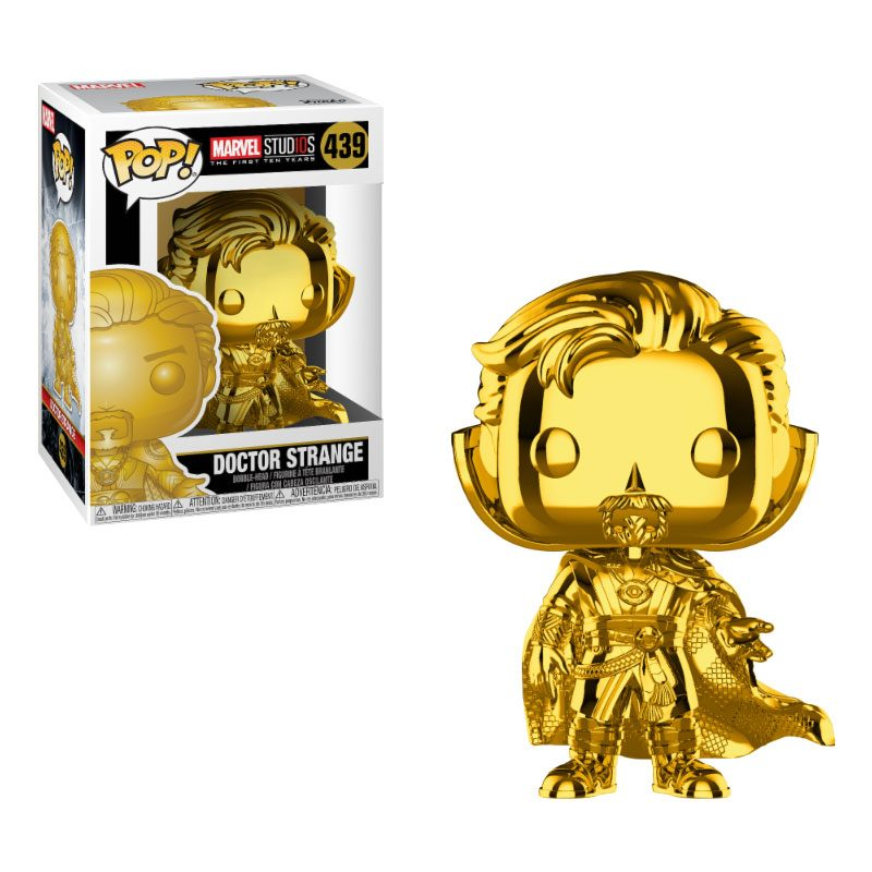 Photo du produit MARVEL STUDIOS 10 FUNKO POP! DOCTOR STRANGE (CHROME)