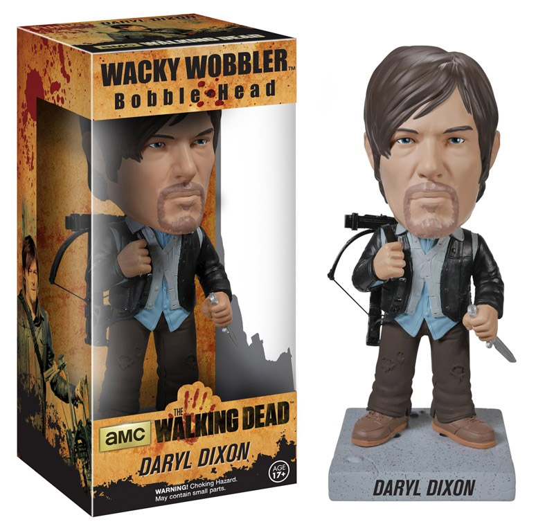 Photo du produit THE WALKING DEAD WACKY WOBBLER BOBBLE HEAD NEW BIKER DARYL