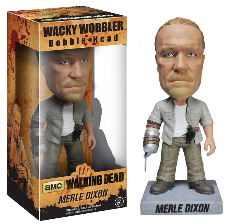 Photo du produit THE WALKING DEAD WACKY WOBBLER BOBBLE HEAD NEW MERLE