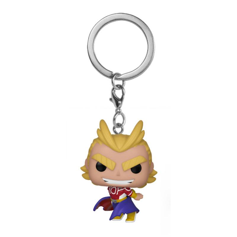 Photo du produit MY HERO ACADEMIA PORTE-CLÉS POCKET POP! VINYL ALL MIGHT (SILVER AGE)
