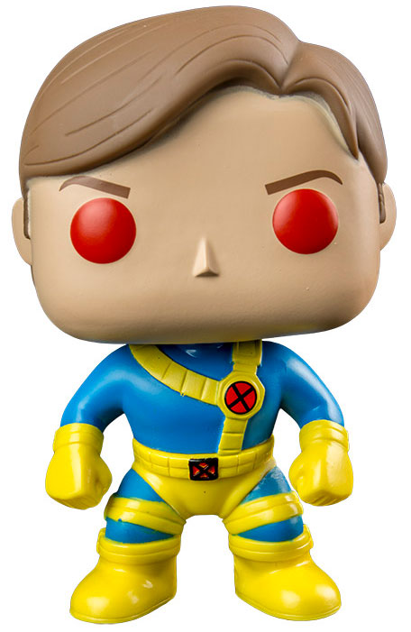 Photo du produit MARVEL COMICS POP! VINYL BOBBLE HEAD UNMASKED CYCLOPS