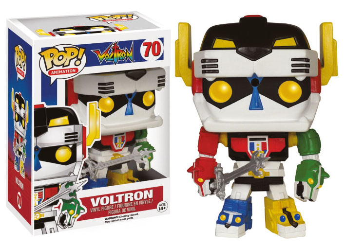 Photo du produit VOLTRON FUNKO POP! ANIMATION VOLTRON