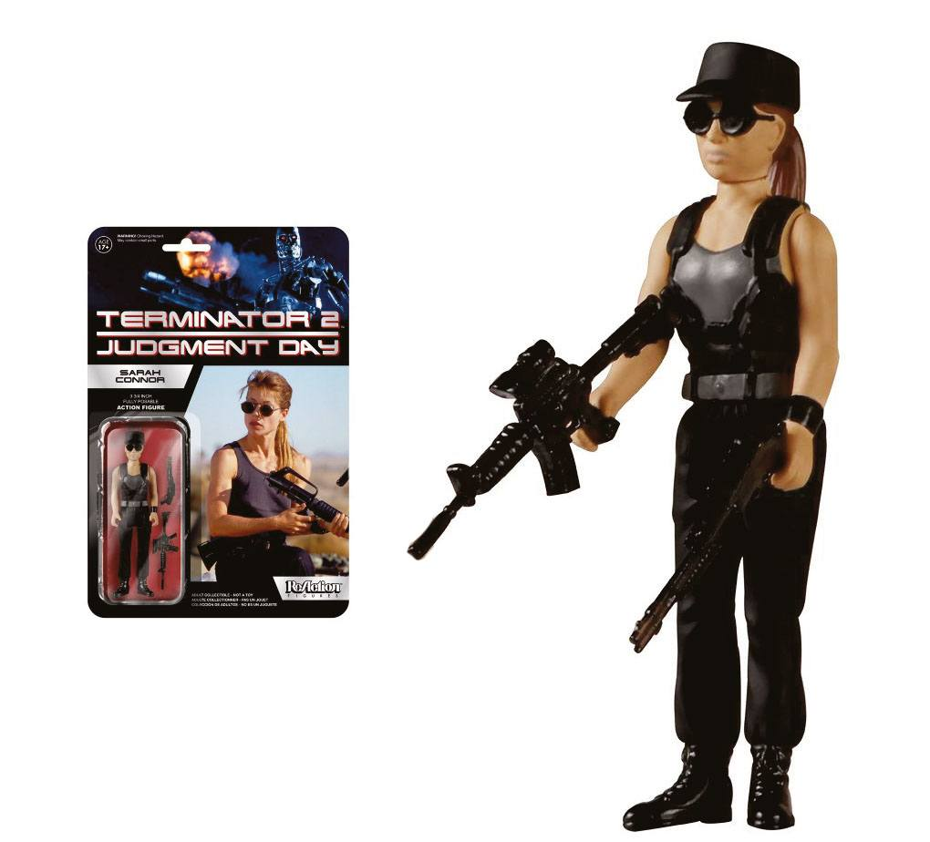 Photo du produit FIGURINE FUNKO TERMINATOR 2 REACTION SARAH CONNOR