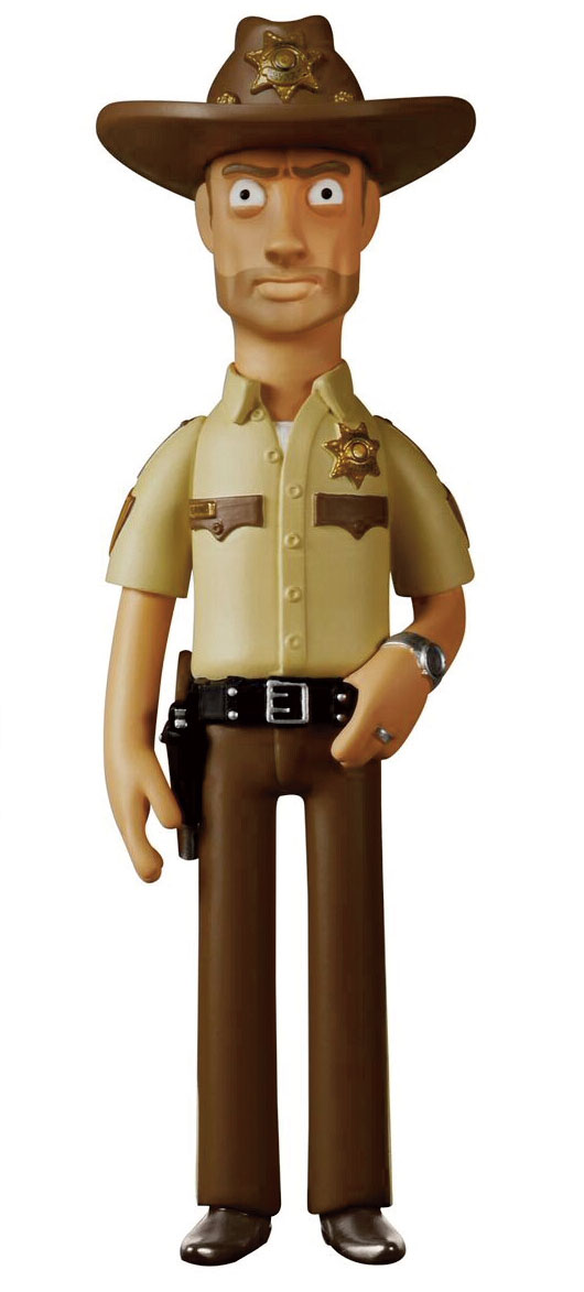 Photo du produit WALKING DEAD VINYL SUGAR FIGURINE VINYL IDOLZ RICK GRIMES