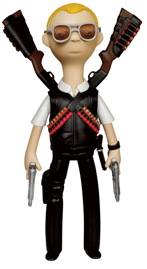 Photo du produit HOT FUZZ VINYL SUGAR FIGURINE VINYL IDOLZ NICHOLAS ANGEL