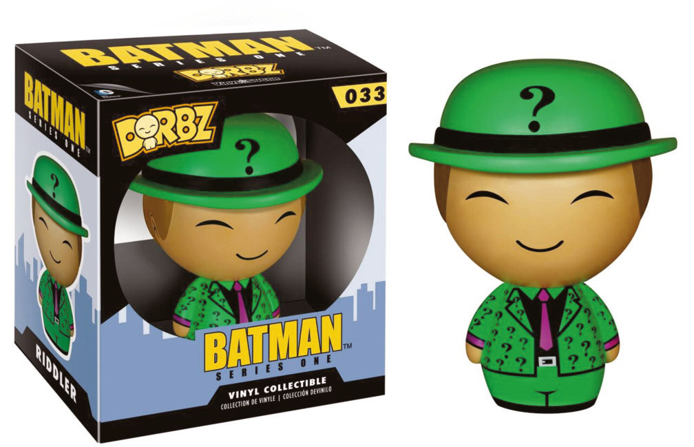 Photo du produit FIGURINE DORBZ BATMAN RIDLER SÉRIE 2