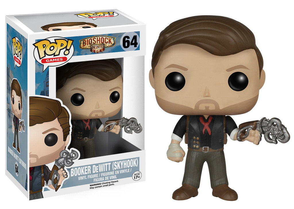 Photo du produit BIOSHOCK POP! GAMES VINYL FIGURINE BOOKER DEWITT & SKYHOOK