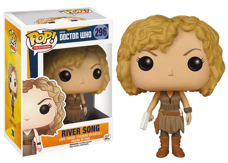 Photo du produit DOCTOR WHO FIGURINE FUNKO POP! TELEVISION RIVER SONG