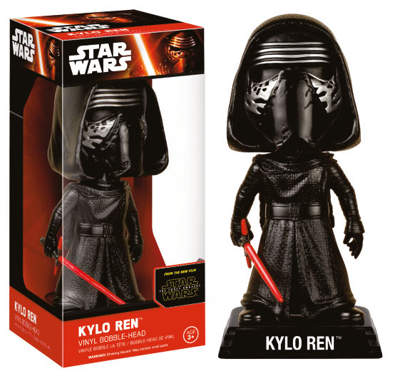 Photo du produit WACKY WOBBLER BOBBLE HEAD STAR WARS EPISODE VII KYLO REN