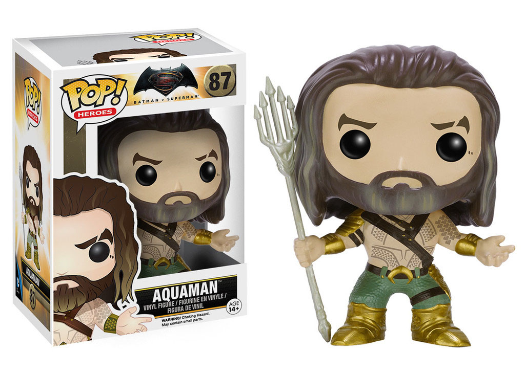 Photo du produit BATMAN VS SUPERMAN FIGURINE FUNKO POP! HEROES AQUAMAN