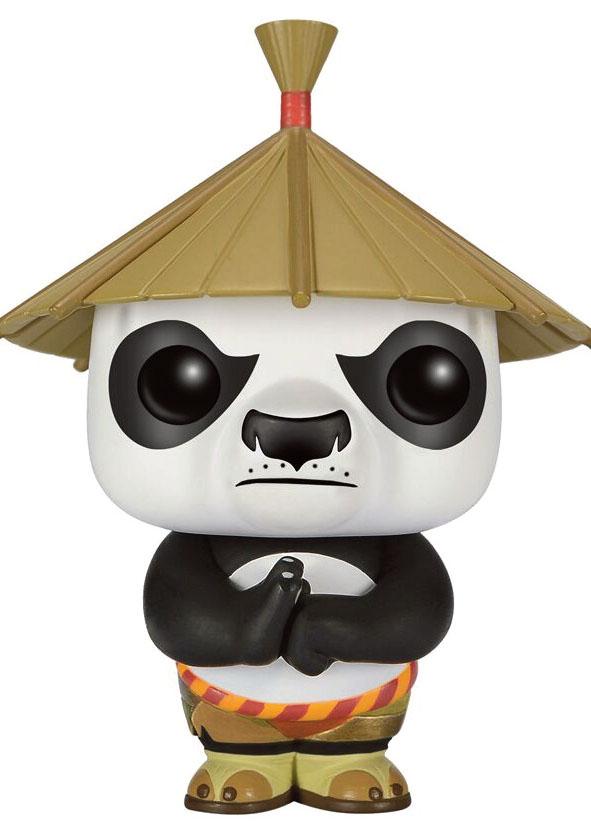 kung fu panda figurine pop po in hat. Black Bedroom Furniture Sets. Home Design Ideas