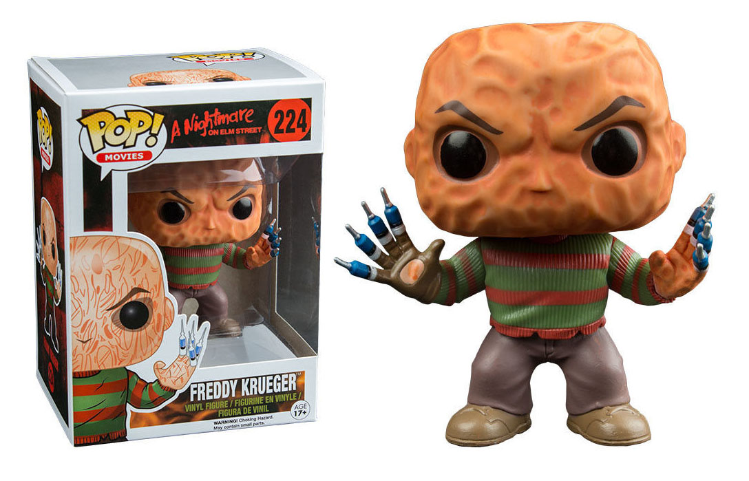 Photo du produit FIGURINE FUNKO POP! FREDDY KRUEGER & SYRINGE FINGERS