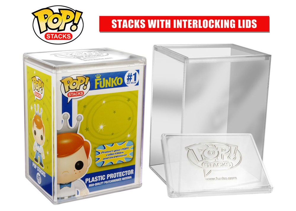 Photo du produit FUNKO POP! STACKS BOITE PROTECTION ACRYLIQUE TRANSPARENTE