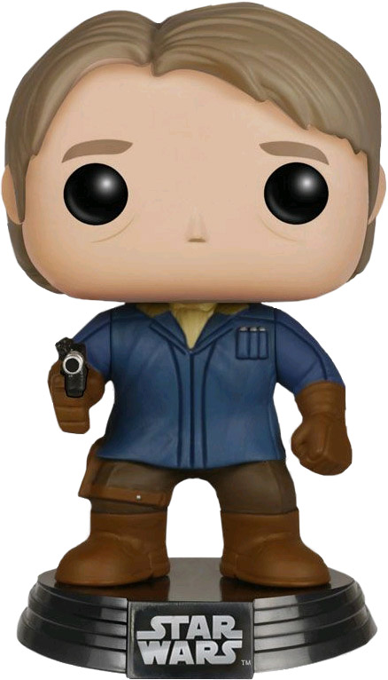 Photo du produit STAR WARS EPISODE VII FUNKO POP! BOBBLE HEAD HAN SOLO (SNOW GEAR)