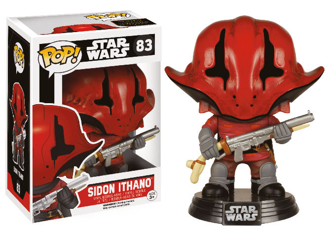 Photo du produit STAR WARS EPISODE VII FUNKO POP! BOBBLE HEAD SIDON ITHANO
