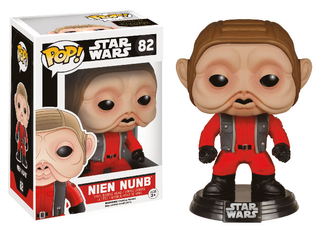Photo du produit STAR WARS EPISODE VII FUNKO POP! BOBBLE HEAD NIEN NUNB