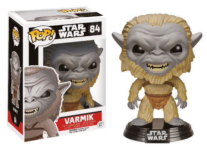 Photo du produit STAR WARS EPISODE VII FUNKO POP! BOBBLE HEAD VARMIK