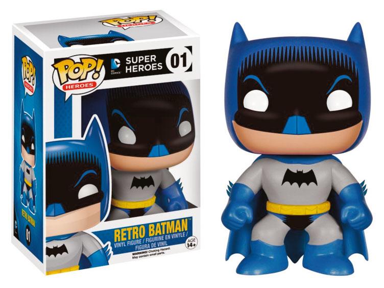 Photo du produit FIGURINE FUNKO POP! DC COMICS HEROES RETRO BATMAN
