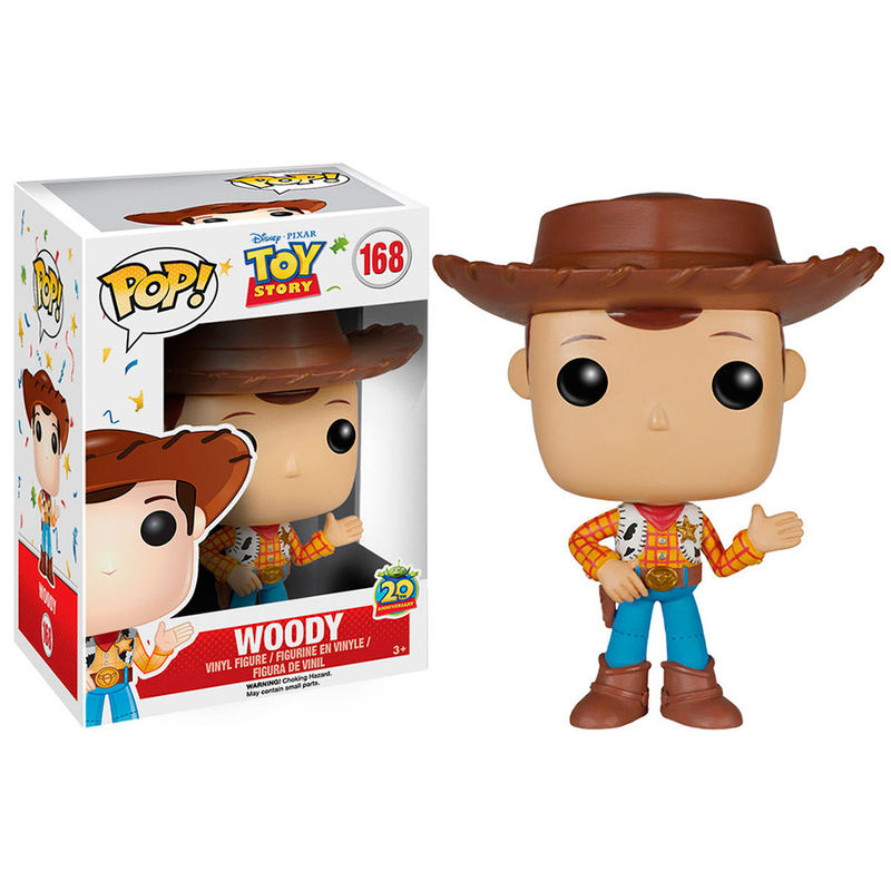 Photo du produit FIGURINE FUNKO POP! TOY STORY 20TH ANNIVERSARY WOODY