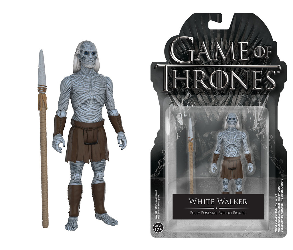 Photo du produit LE TRONE DE FER FIGURINE WHITE WALKER