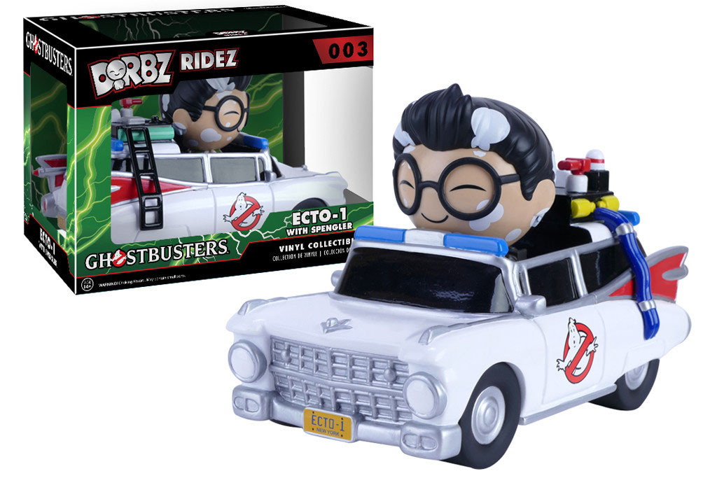 Photo du produit GHOSTBUSTERS DORBZ RIDEZ VEHICULE ECTO-1 & SPENGLER