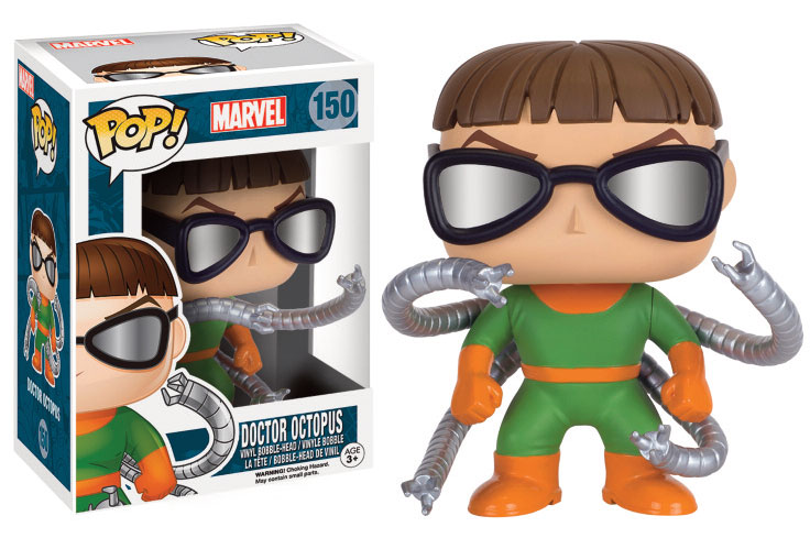 Photo du produit MARVEL COMICS POP! VINYL FIGURINE DOCTOR OCTOPUS
