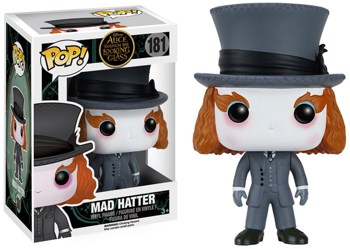 Photo du produit ALICE THROUGH THE LOOKING GLASS POP! VINYL FIGURES MAD HATTER