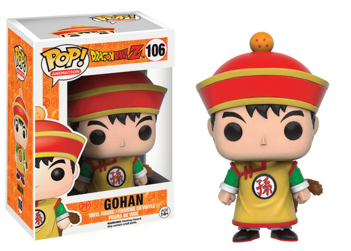 Photo du produit FUNKO POP DRAGON BALL Z GOHAN