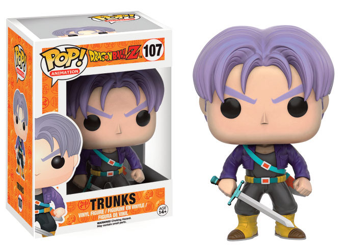 Photo du produit FUNKO POP DRAGON BALL Z TRUNKS